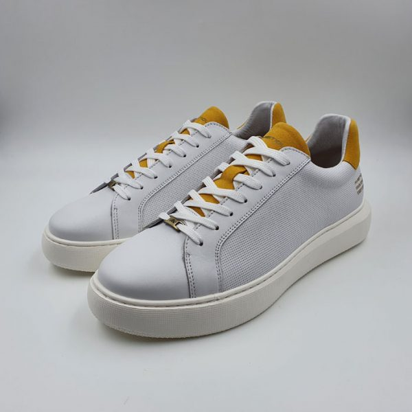 Ambitious Uomo Sneaker Bianco 10634 1