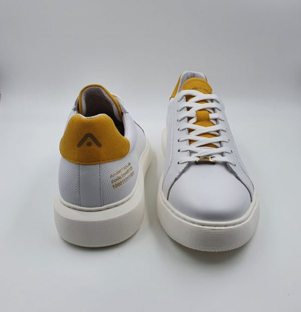 Ambitious Uomo Sneaker Bianco 10634 2