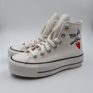 Converse Donna Sneaker Bianco 1