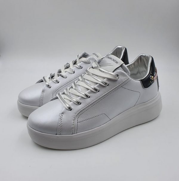 Crime Donna Sneaker Bianco 25313 1