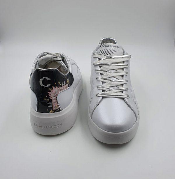 Crime Donna Sneaker Bianco 25313 2