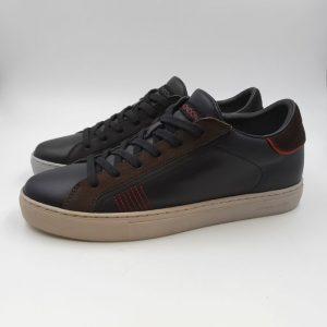 Crimelondon Uomo Sneaker Nero 10612 1