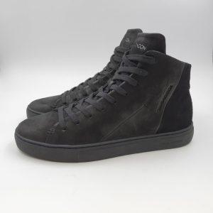 Crimelondon Uomo Sneaker Nero 11670 1