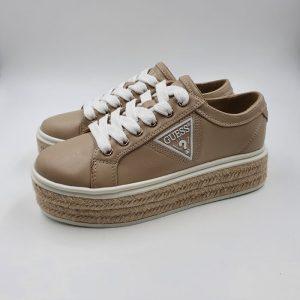 Guess Donna Sneaker Beige Prt 1