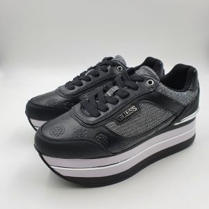 Guess Donna Sneaker Nero Hnse21 1