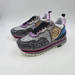 Liujo Donna Sneaker Glittermulticolor Tx007e21 1