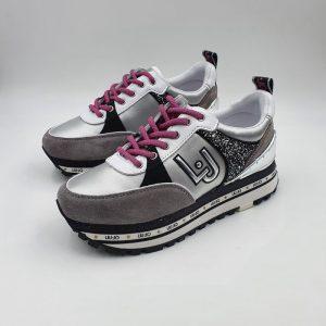 Liujo Donna Sneaker Grigiobianco Px137e21 1