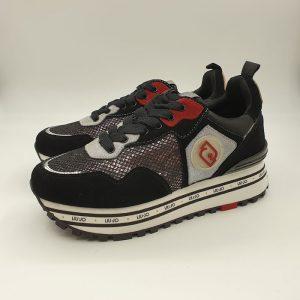 Liujo Donna Sneaker Nero Px064 1