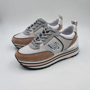 Liujo Donna Sneaker Rosagrigio Px139e21 1