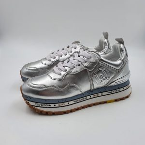 Liujo Donna Sneakers Argento P0231 1