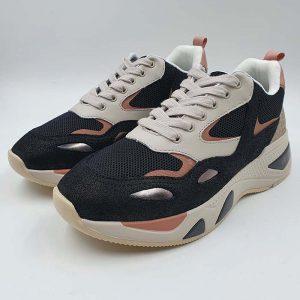 Liujo Donna Sneakers Nero Rosa Px096 1
