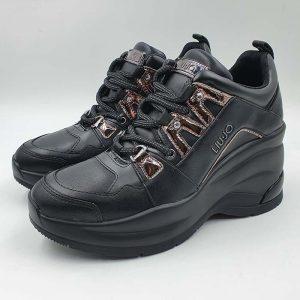 Liujo Donna Sneakers Nero Tx136 1
