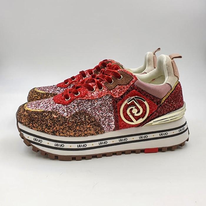 Liujo Donna Sneakers Rosso H