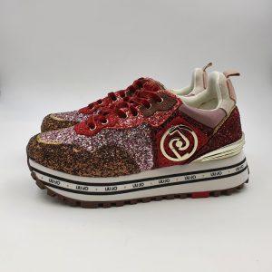 Liujo Donna Sneakers Rosso Tx198 1