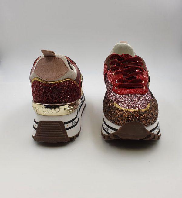 Liujo Donna Sneakers Rosso Tx198 2