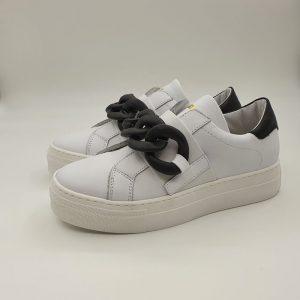 Meline Donna Sneaker Bianco Ug1500 1