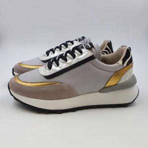 Meline Donna Sneaker Grigio 1703 1