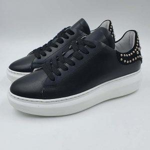 Meline Donna Sneaker Nero No260 1