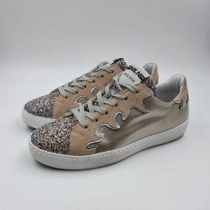 Meline Donna Sneaker Oro 1