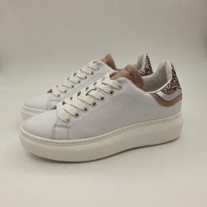 Meline Donna Sneaker Rosa No1606 1