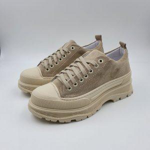 Mery Donna Sneaker Beige Leone 1