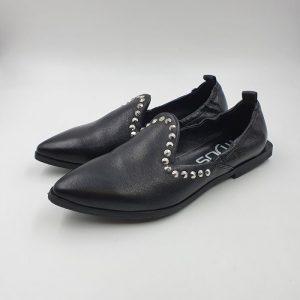 Mius Donna Pantofola Nero 33103 1