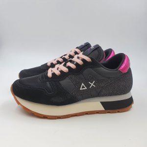 Sun68 Donna Sneaker Nero 41207 1