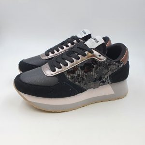 Sun68 Donna Sneaker Nero 41217 1