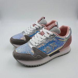 Sun68 Donna Sneaker Rosa 21214 1