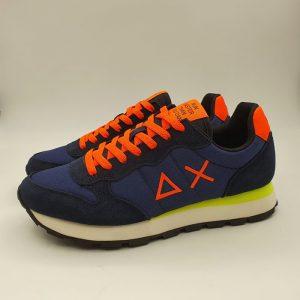 Sun68 Uomo Sneaker Blu 41102 1