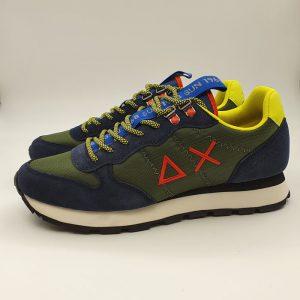 Sun68 Uomo Sneaker Blu 41108 1