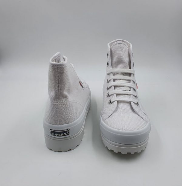 Superga Donna Sneaker Bianco Alpina 2