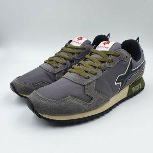 W6yz Uomo Sneaker Antracite.nero 1b14 1