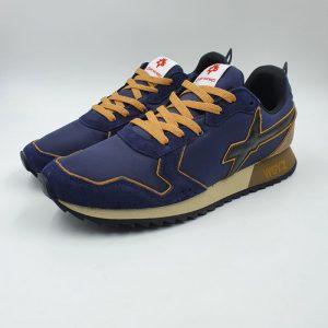 W6yz Uomo Sneaker Blu.nero 1c46 1
