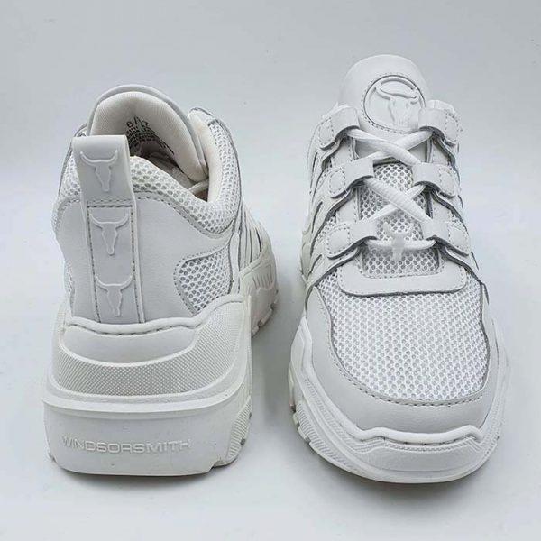 Windsorsmith Donna Sneaker Bianco Tecn Carte 2