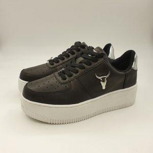 Windsorsmith Donna Sneaker Nero Rich 1